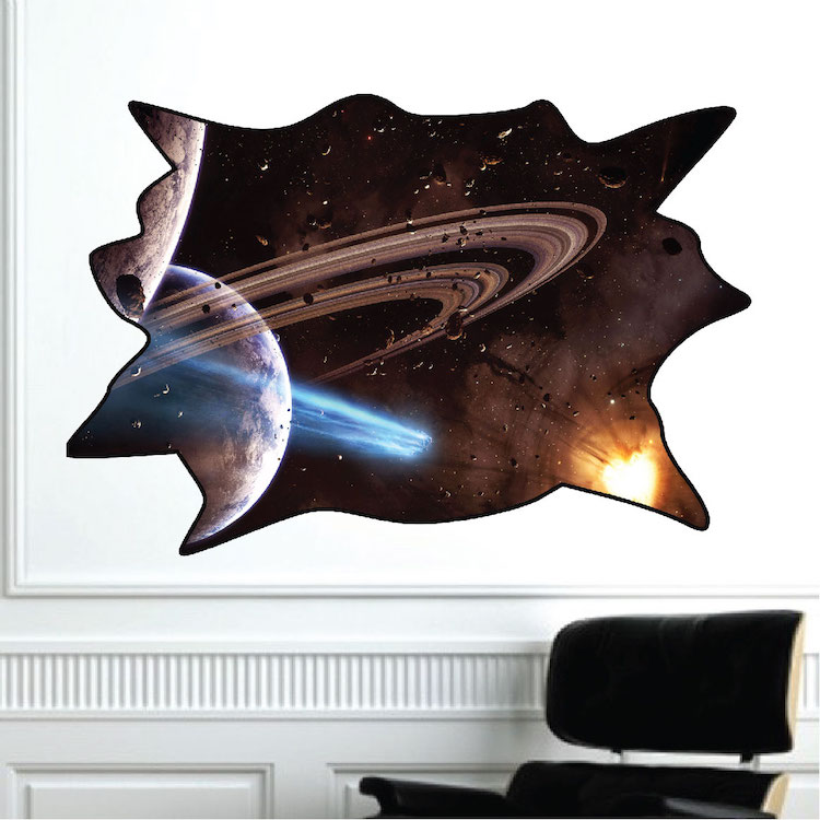 outer space decal space wall decal murals primedecals amazing free wallpapers promotion shop for promotional
