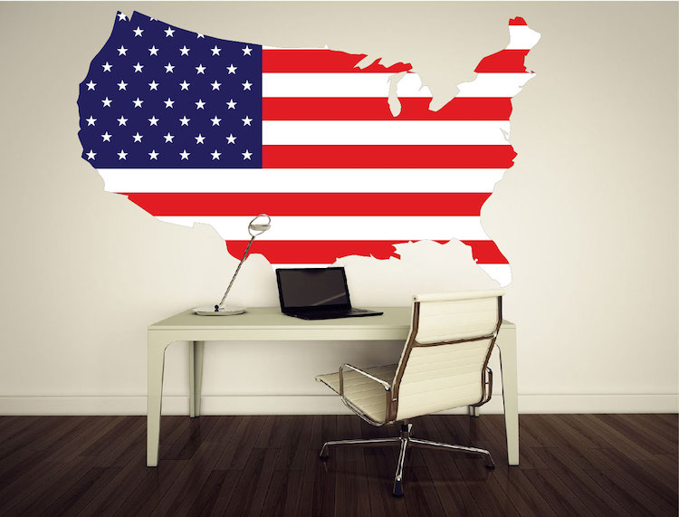 American flag wall mural decal flag wall decal murals for American flag wall mural