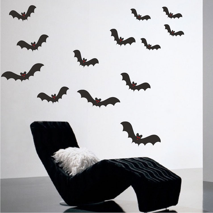 Quick View & Halloween Bats Wall Decals - Halloween Stickers - Primedecals