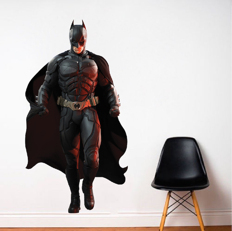 Batman Wall Decal   Superhero Wall Design   The Dark Knight Wall Mural   DC  Comics Stickers | Primedecals