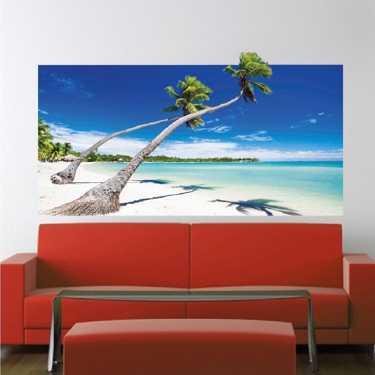 Beach Wallpaper Self Adhesive Vinyl Decal Mural Ocean