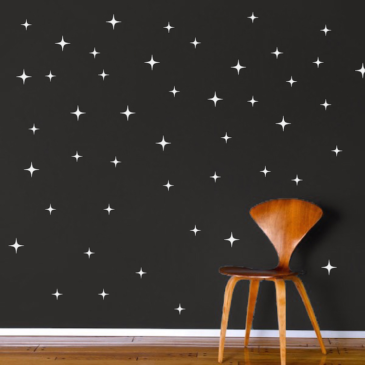 Stars Wall Decals - Christmas Murals - Primedecals