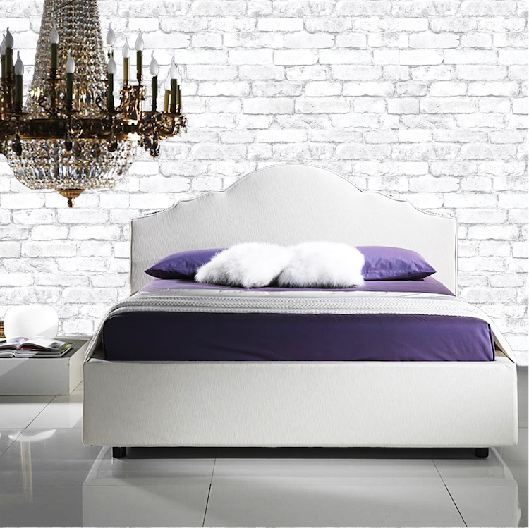 White Bricks Wallpaper Decal Self Adhesive Brick