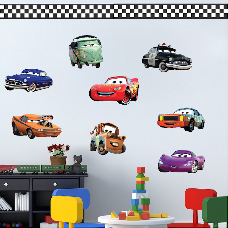 Cars Wall Decals Roselawnlutheran - Disney cars wall decals kids rooms