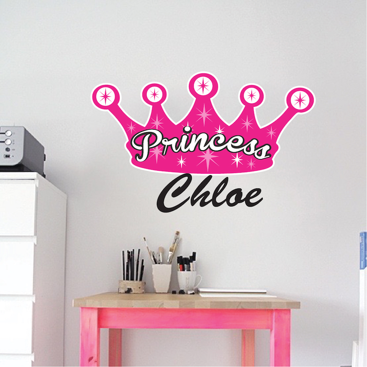 Home U003e Shop Wall Decals U003e All Decals U003e Princess Wall Mural Decal