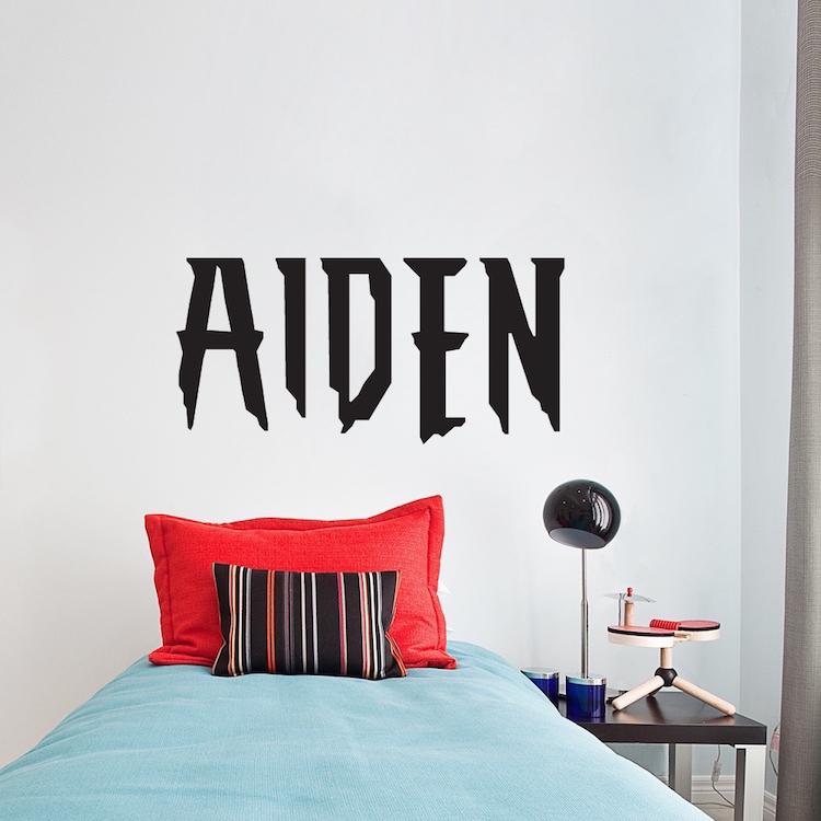 Home U003e Shop Wall Decals U003e All Decals U003e Custom Superhero Font Name