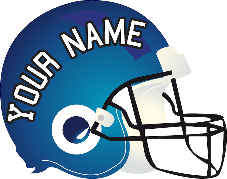 Football Helmet Vinyl Wraps : Football helmet mural decal sports wall murals