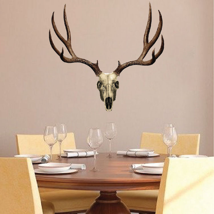 Deer Antler Design Decal
