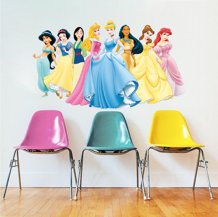 Disney Princess Wall Mural Decal