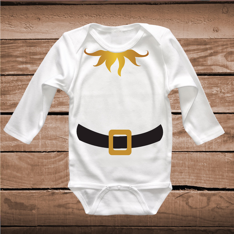 Elf Full Body Tee Tees Shirt Elf Christmas Costume