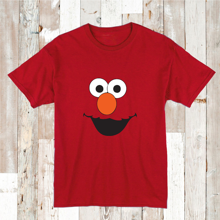 cute elmo t shirt tee tees clothes custom tshirts