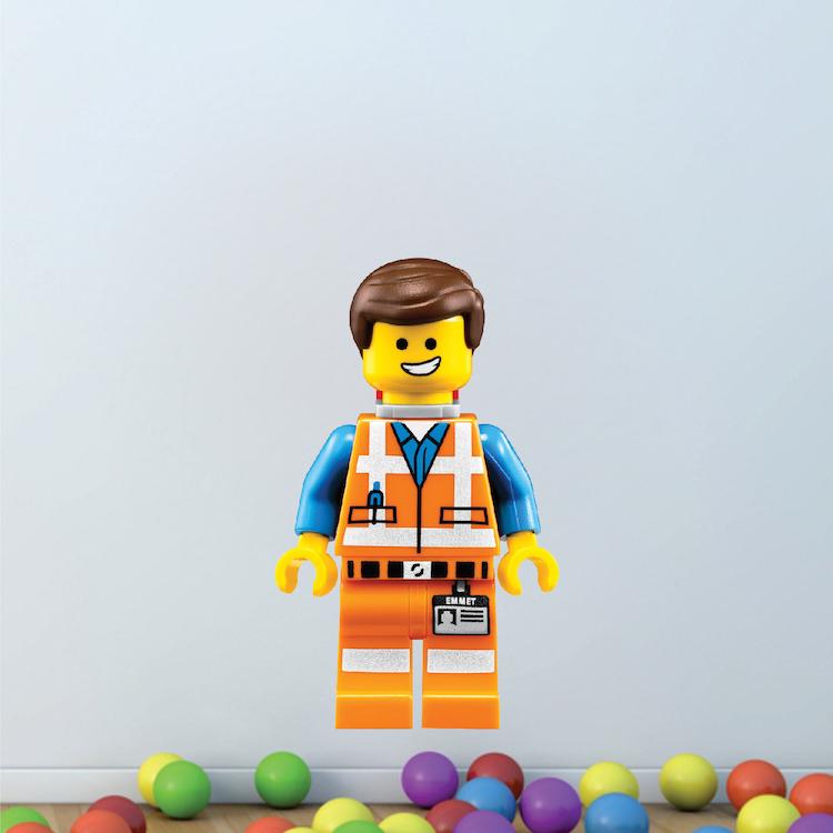 Lego Emmet Boys Bedroom Decal