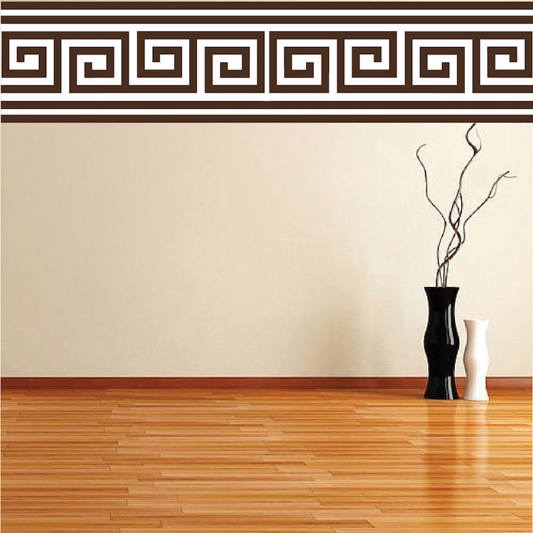 Wall Mural Decals border wall mural decal - border wall decal murals - primedecals