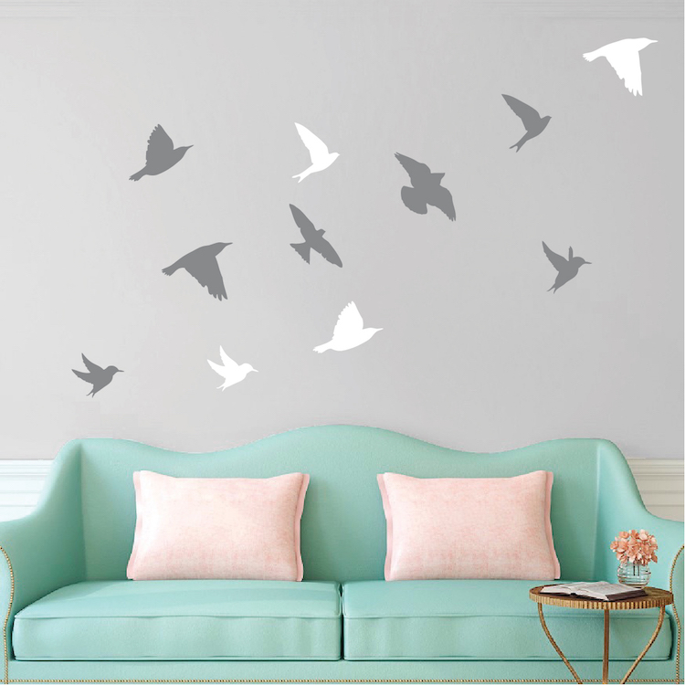 Bird decals driverlayer search engine for Bird mural wallpaper