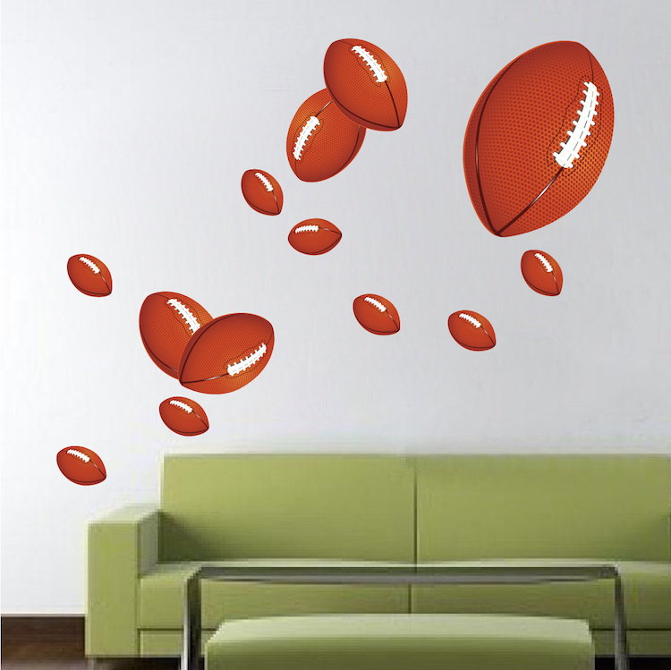 Football Wall Mural Decal Part 69