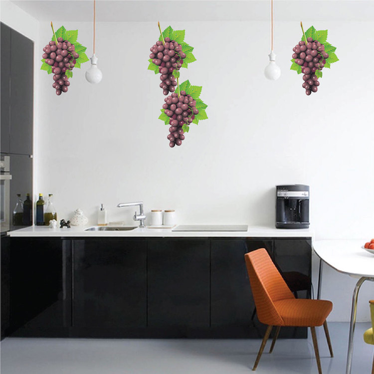 Quick View & Grape Wall Mural Decal - Nursery Wall Decal Murals - Primedecals