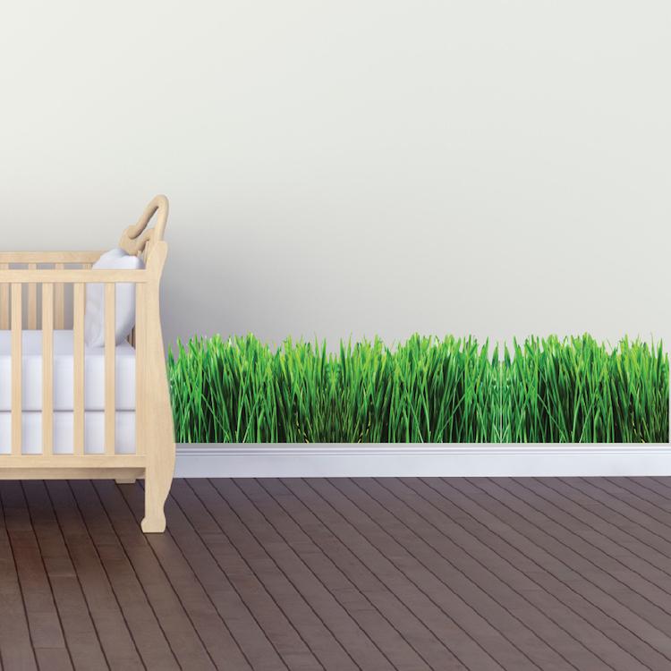 Grass Wall Mural Decal Garden Wall Decal Murals Primedecals - Wall decals grass