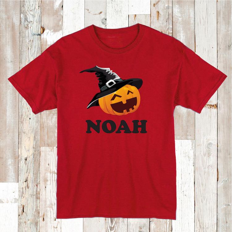 Kids Custom Halloween Shirt Halloween Witch Tee Custom