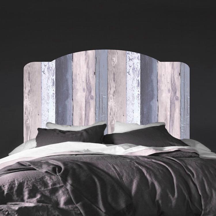 & Bed Headboard Mural Decal - Headboard Wall Decals - Primedecals