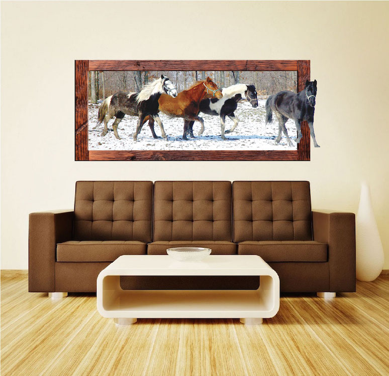 Horse Wall Decal Mural Large Wall Decals Primedecals - Wall decals horses