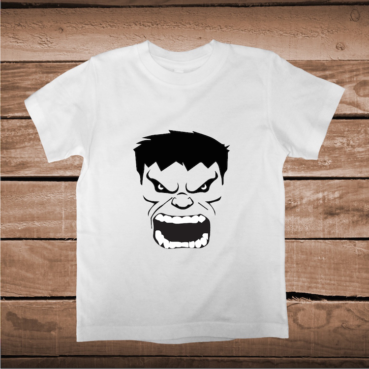 Cool screaming face on tees toddler and baby clothes for Custom kids t shirts