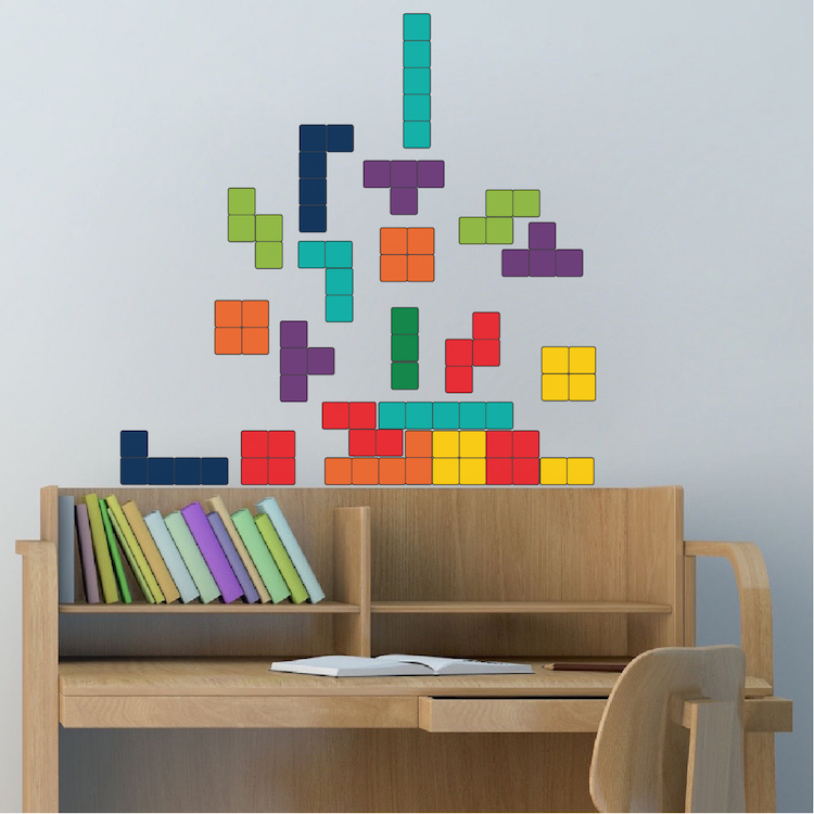Superieur Home U003e Shop Wall Decals U003e All Decals U003e Classic Tetris Wall Mural Decal