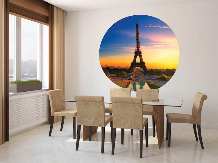 Eiffel Tower Wall Mural Decal Part 46