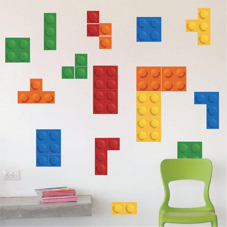 lego tetris wall decal kids wall decal murals primedecals