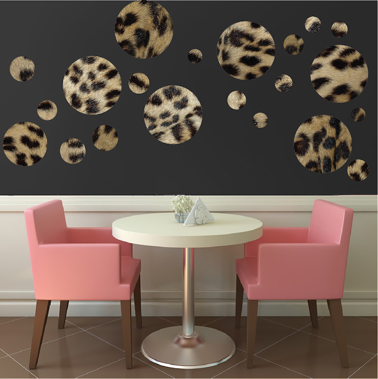 Pare S On Leopard Print Wall Decals Ping