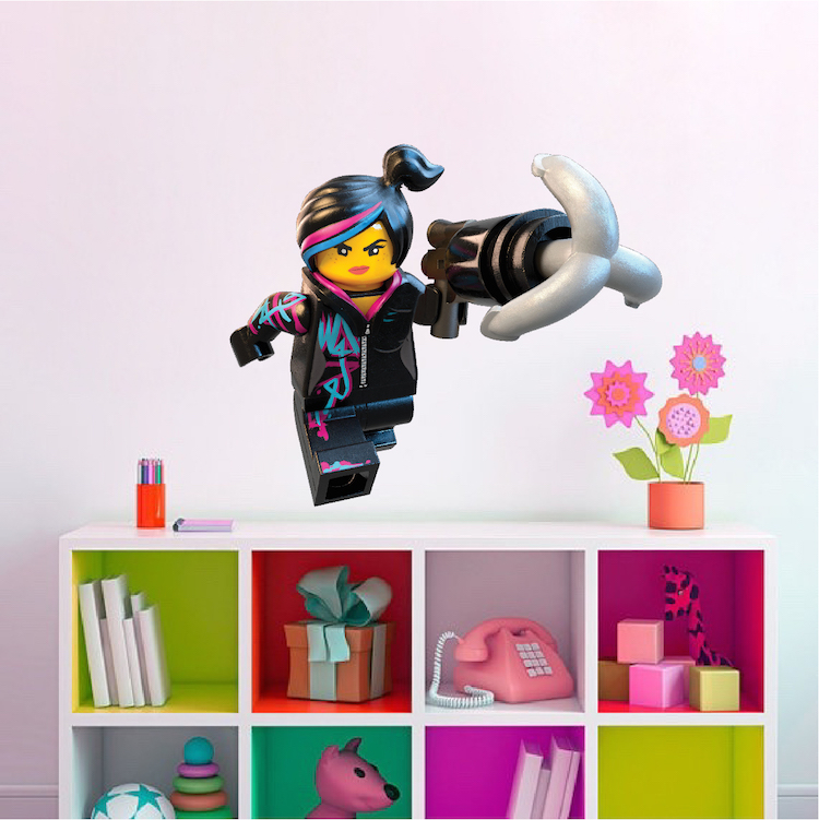 Bon Lego Lucy Wall Decal