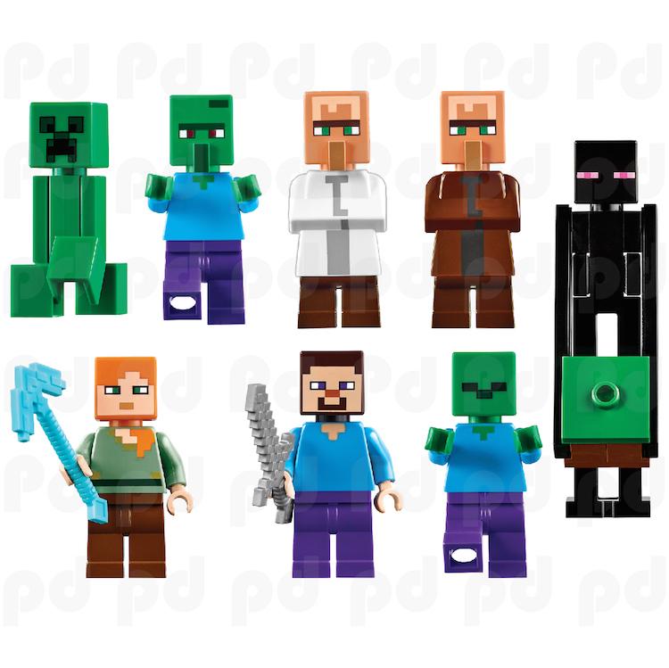 Pin Minecraft Character On Pinterest