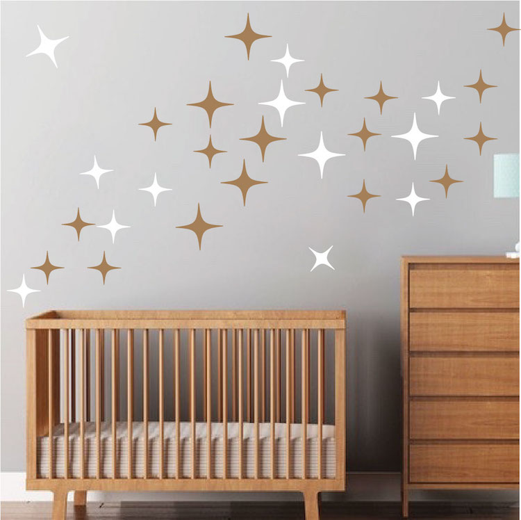 star wall decals roselawnlutheran. Black Bedroom Furniture Sets. Home Design Ideas