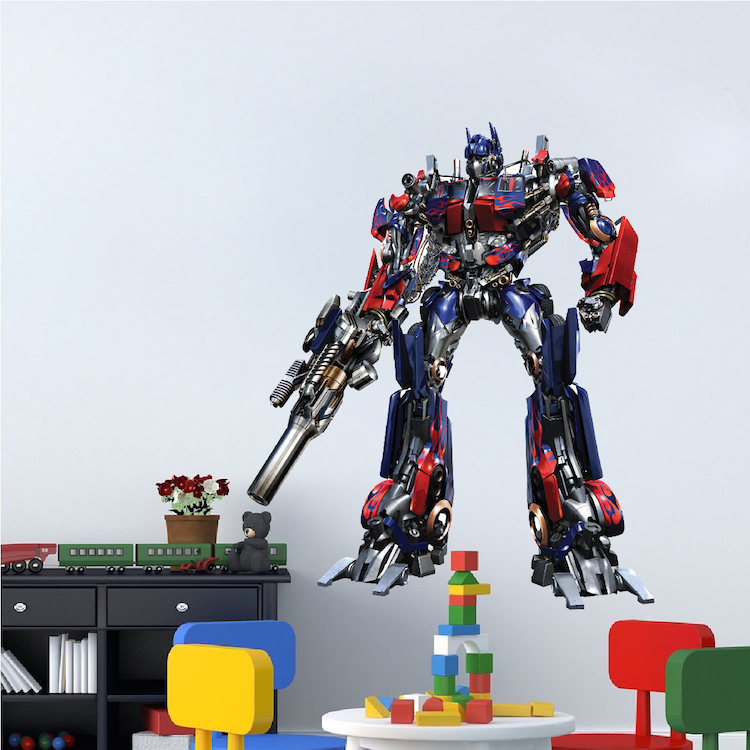 Optimus Prime Transformers Wall Decal