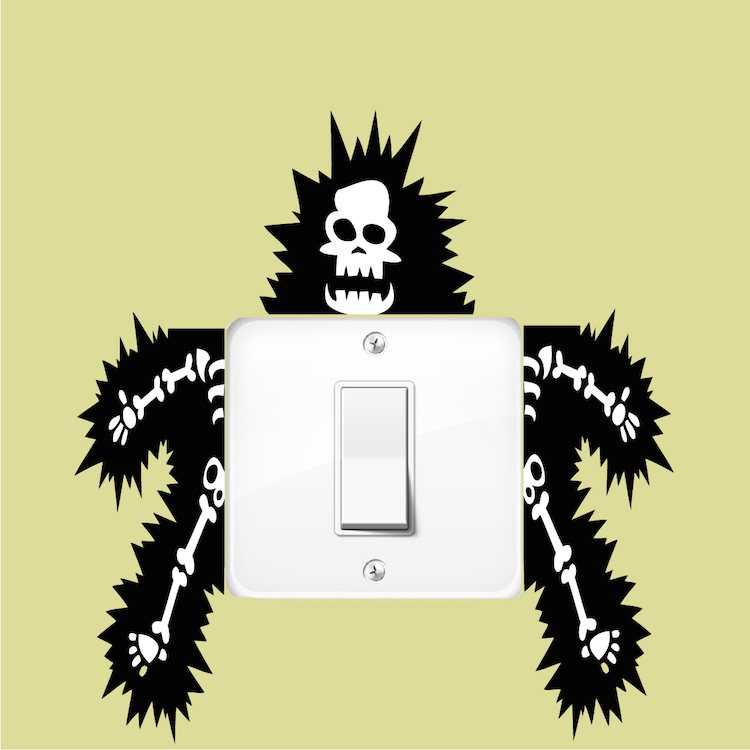 funny outlet or light switch wall decal sticker wall sticker outlet flash giveaway swanky point of view
