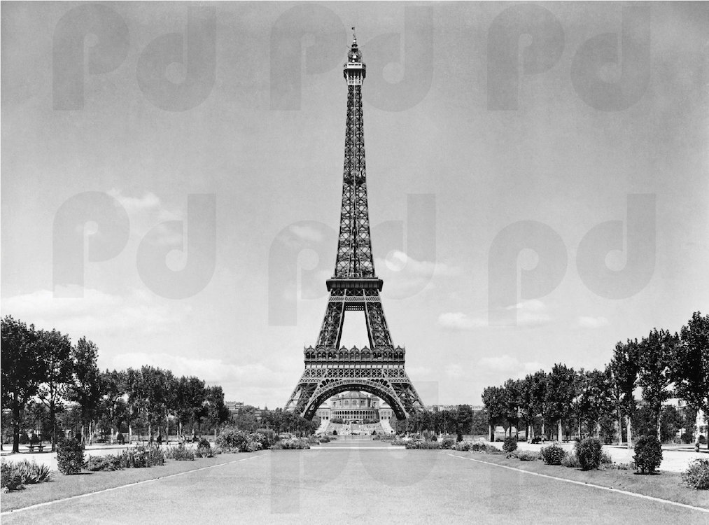 Paris wall mural eiffel tower home design for Eiffel tower wall mural black and white