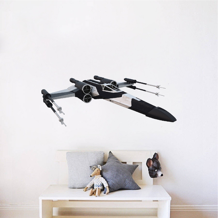 partisan x wing star wars wall decal rogue one - Wall Decals Designs