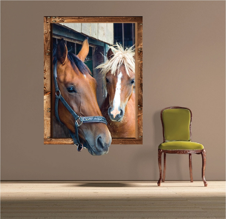 . Horse Frame Wall Decal   Large Wall Decals   Primedecals