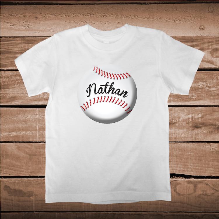 Baseball custom shirt sports t shirts boy baseball for Custom baseball tee shirts