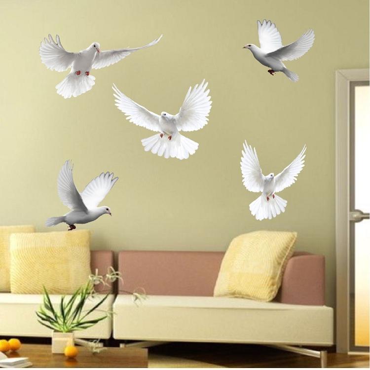 Dove Birds Wall Decal Murals