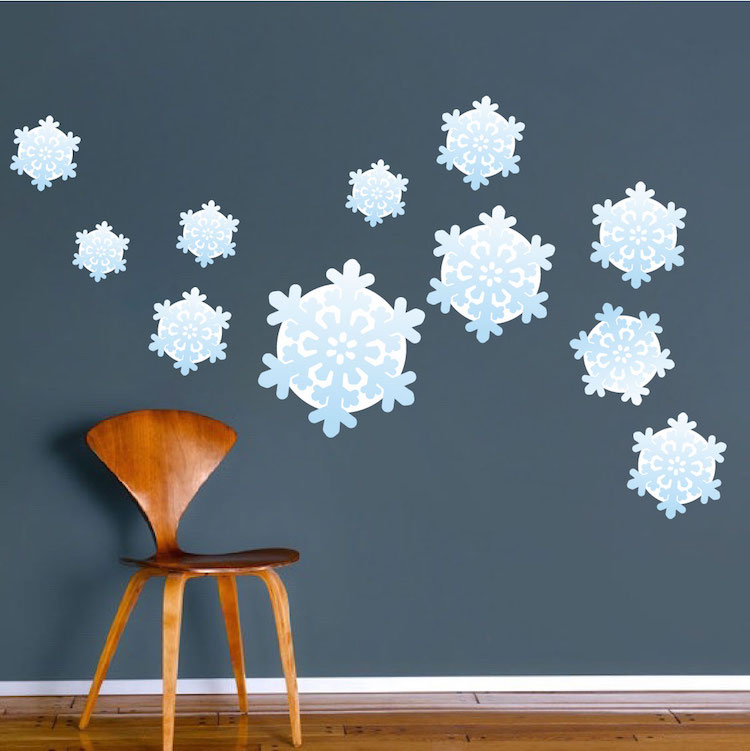 Merveilleux Home U003e Shop Wall Decals U003e All Decals U003e Snowflake Wall Decals