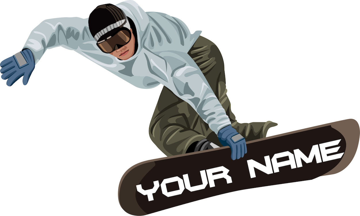 Snowboarder mural decal sports wall decal murals primedecals addthis sharing sidebar amipublicfo Image collections