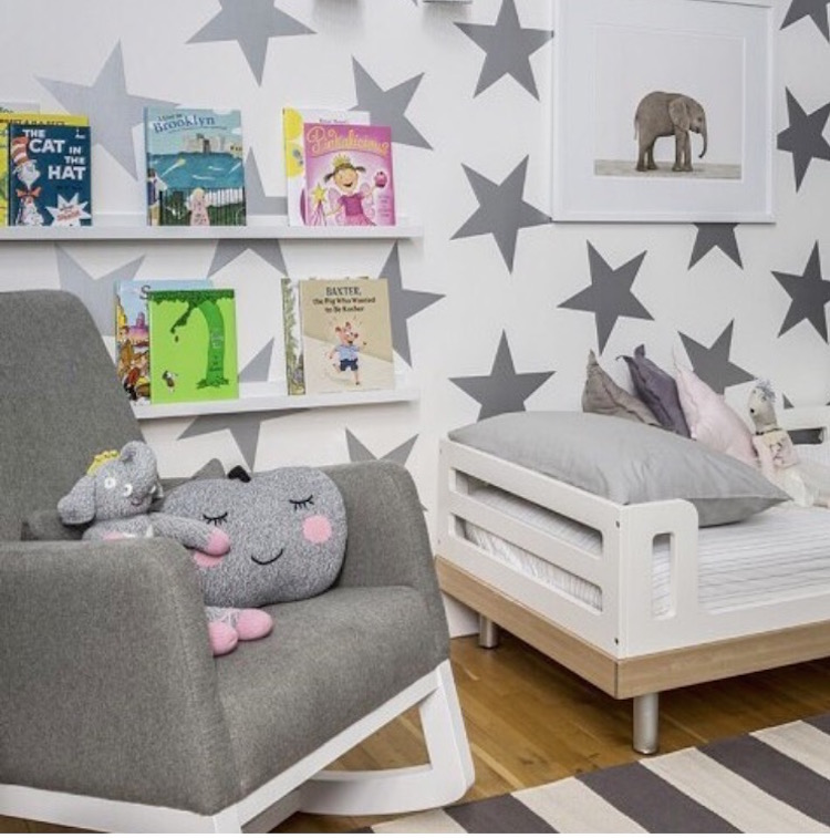 Wall Design Decals view in gallery colorful polka dot wall decals creating a design Nursery Wall Star Decals