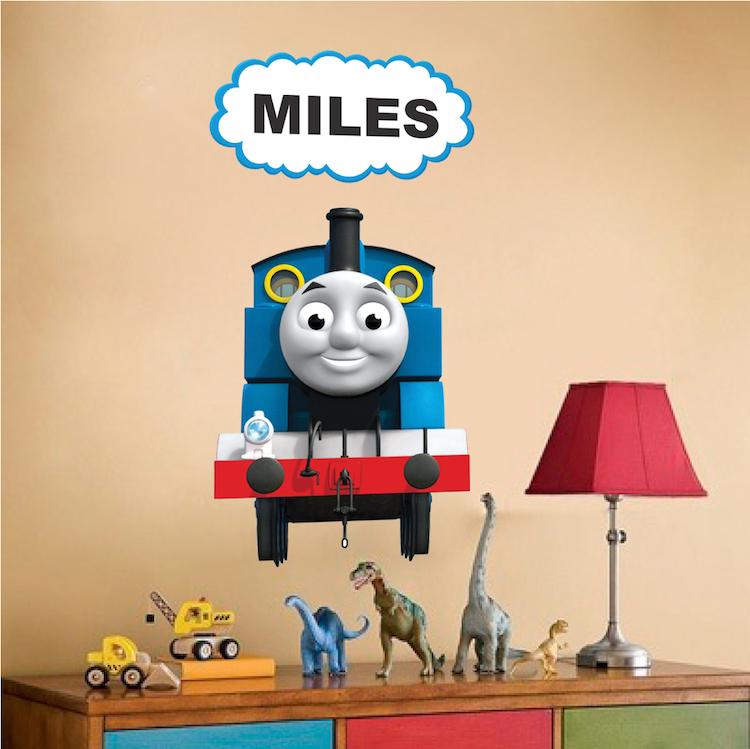 Thomas The Train Custom Wall Decal - Kids Train Wall Decal - Kids ...