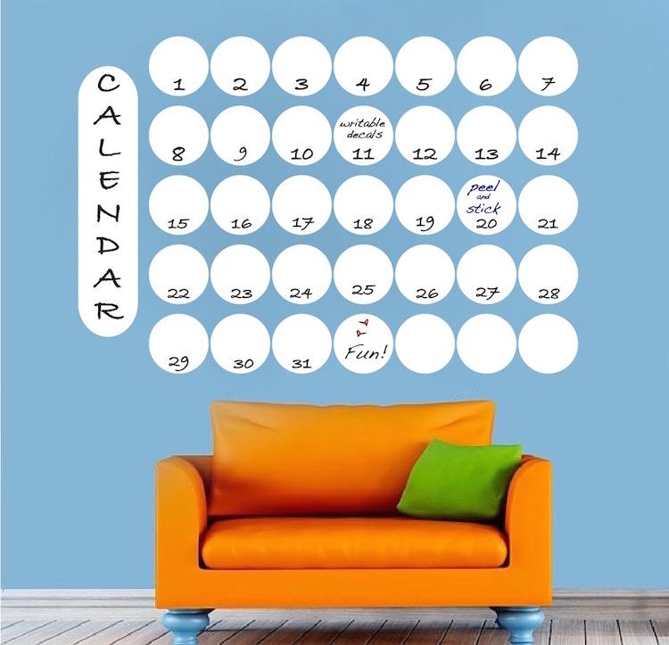 Superieur Dry Erase Wall Calendar