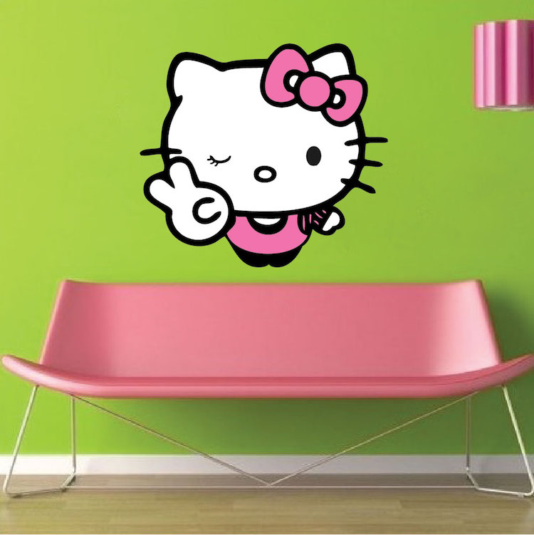 hello kitty wall sticker 40694 hello kitty wall sticker