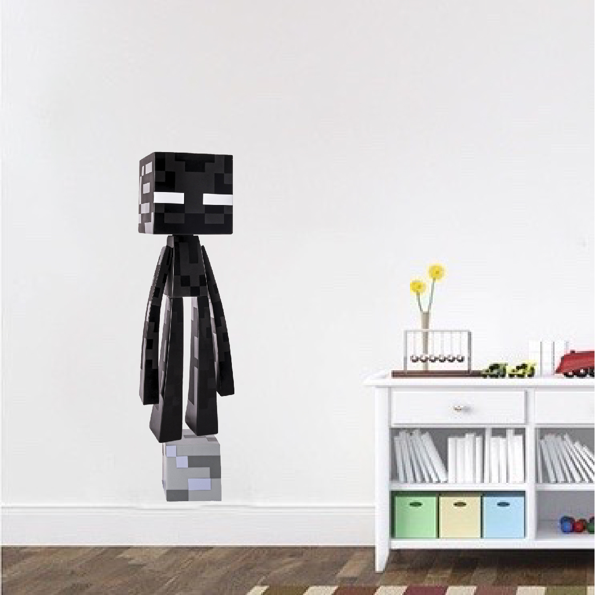 shop wall decals all decals minecraft enderman bedroom wall decal