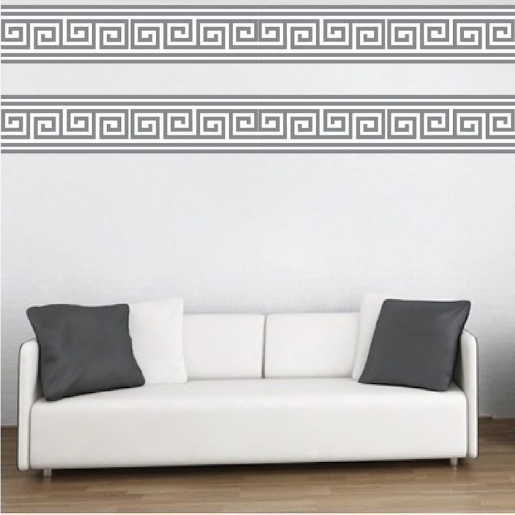 Border Wall Mural Decal