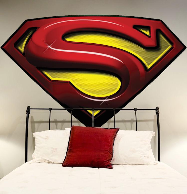 Superior Superman Decal Mural