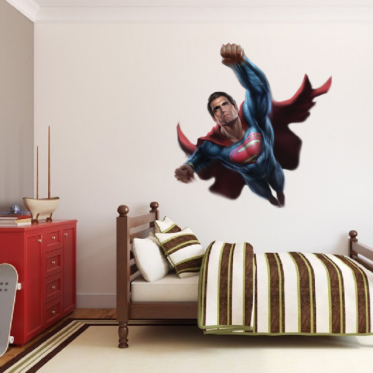 Lovely Superman Wall Decal
