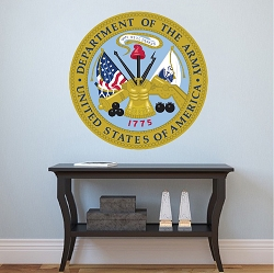 U.S. Army Seal Wall Mural Decal